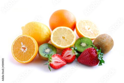 Fotobehang Vruchten assorted fruit