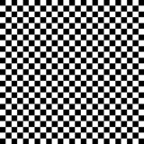 Black and White Check Pattern poster