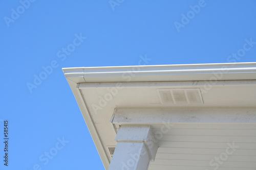 house roof edge