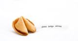fortune cookie with text poster
