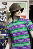 a mannequin wearing casual clothes poster