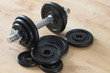 dumbell & weights