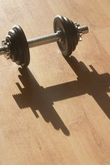 strong shadow
