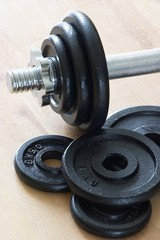 weights & dumbell part