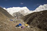 island peak base camp - nepal poster