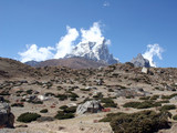 taboche peak - nepal poster
