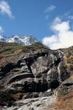 tenga waterfall - nepal poster
