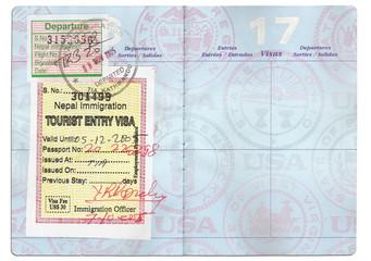 passport tourist visa