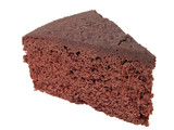 chocolate cake piece poster