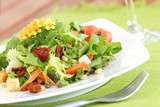 Fototapety summer salad