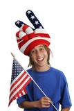 patriot boy - funny poster