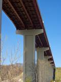 high bridge overhead poster