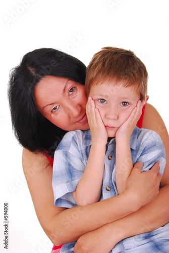 poster of mother and son five