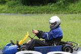 karting in the rain 4 poster
