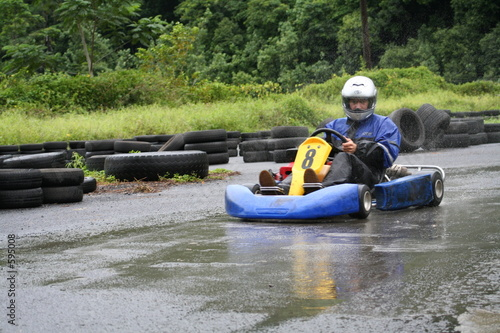 karting in the rain 4
