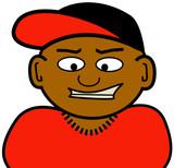 dark skinned homie poster