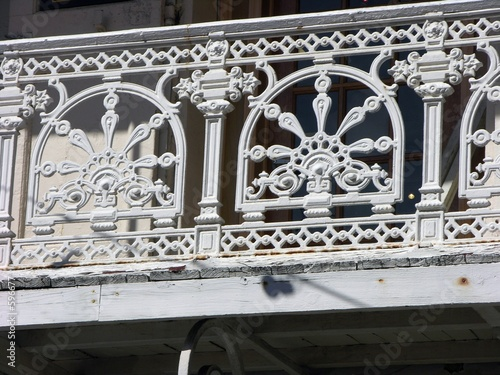 old balcony
