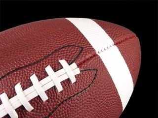 american football close-up
