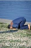 muslim praying poster