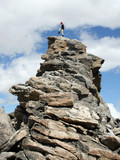alpine climber - montana poster