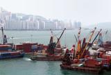 port in hong kong poster