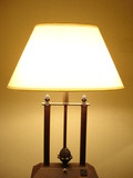 wide lamp poster