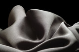 black silk . waves poster