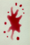 stain - splat poster