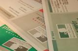 feuilles d'impositions