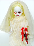 scary doll poster