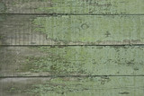old green wooden fence - perfect grunge background poster