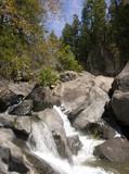 waterfall - mill creek falls, oregon poster