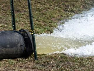 pumping a pond
