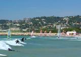 surfeurs et planchistes poster