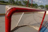 empty hockey net poster