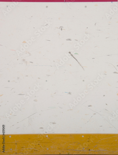 hockey rink board