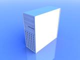 blue desktop poster