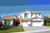 suburban house poster