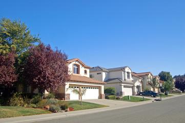 suburban houses