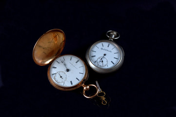 gold and silver pocketwatches