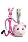 savings piggy bank poster