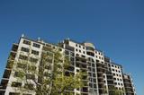 condominium building poster