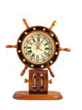 captains wheel clock poster