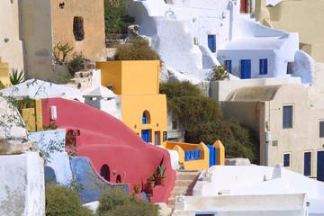griechenland impressionen - insel santorin fira