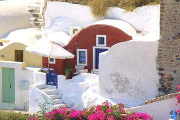 griechenland -  kleines haus auf santorin