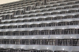 stadium seating - black