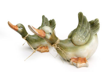 clay ducks