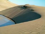 california sand dunes poster