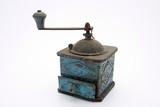 vintage coffee grinder poster