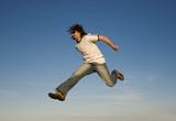 jumping man poster